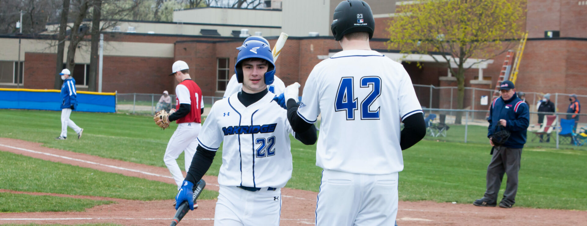 Oakridge baseball team sweeps Whitehall in a league doubleheader, still looks strong after missing the 2020 season