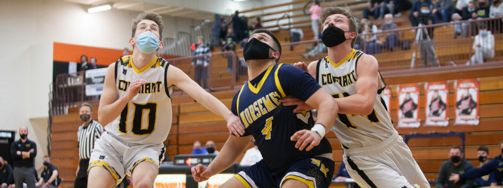 North Muskegon's fun 'Cinderella' run ends with a big loss to Grand Rapids Covenant Christian in Division 3 regional final