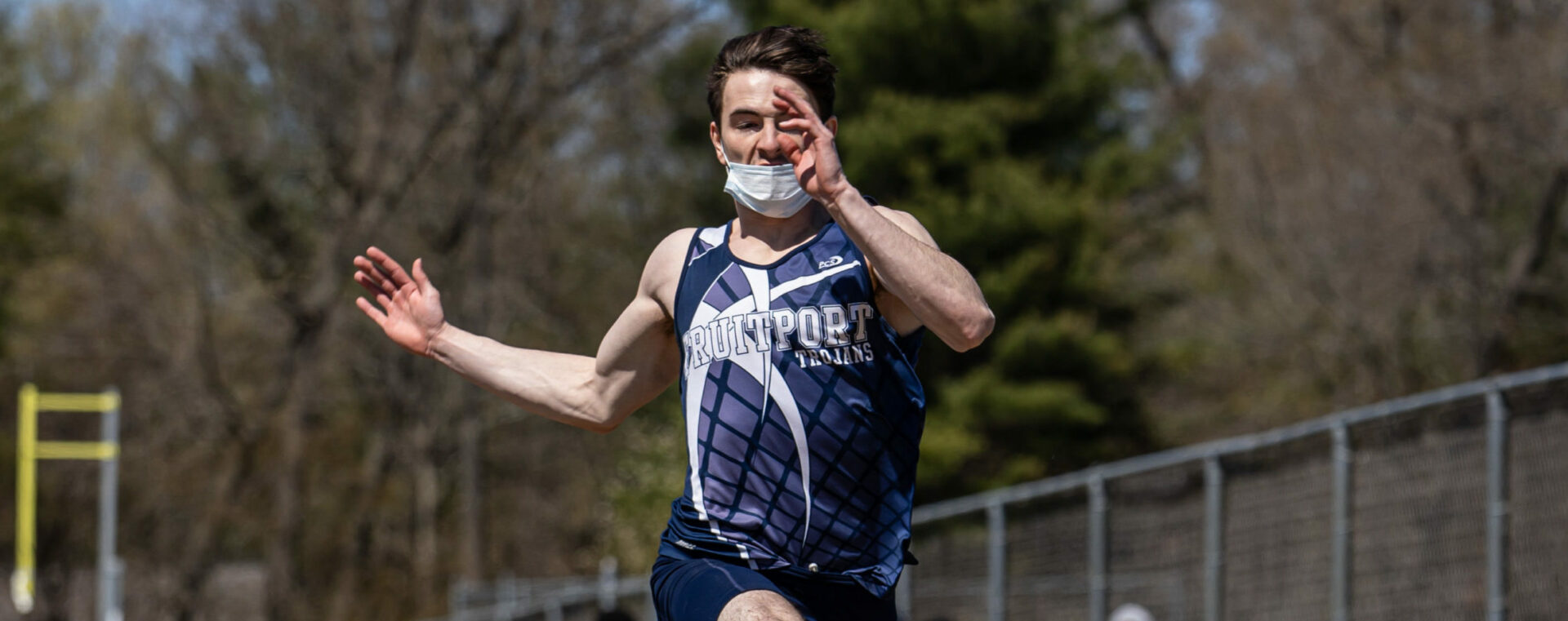 Fruitport's Dakota Mitchell quietly had a terrific day at the GMAA track meet, now eyeing state honors in upcoming weeks