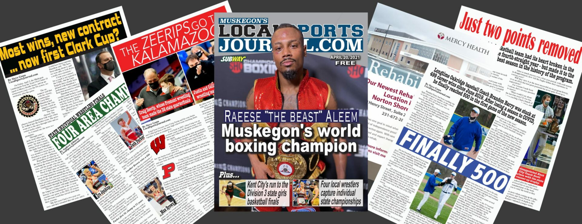 """Raeese """"The Beast"""" Aleem: Muskegon's world boxing champ, who remembers where he came from and who guided him"""