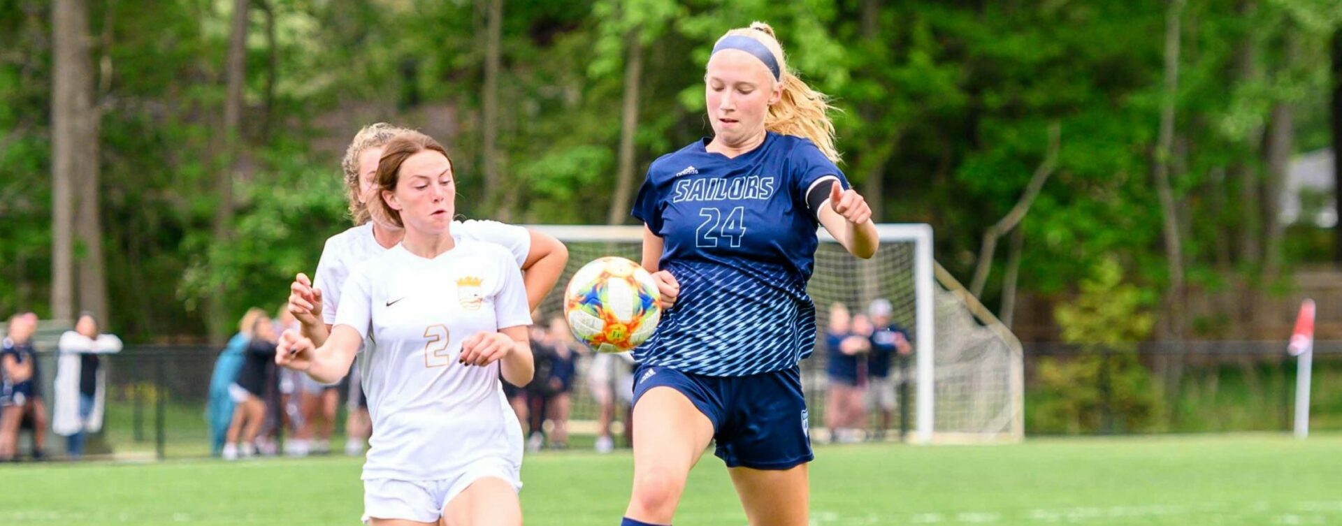 Mona Shores girls soccer wins fourth straight conference tournament, and outright league title, by beating Zeeland East 4-1