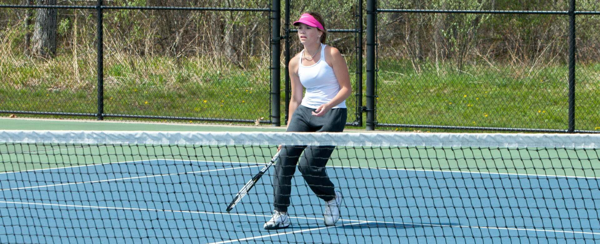 Fruitport's Blakeman a surprise No. 1 singles champ at GMAA tennis tournament; Norse defend team title in a close finish