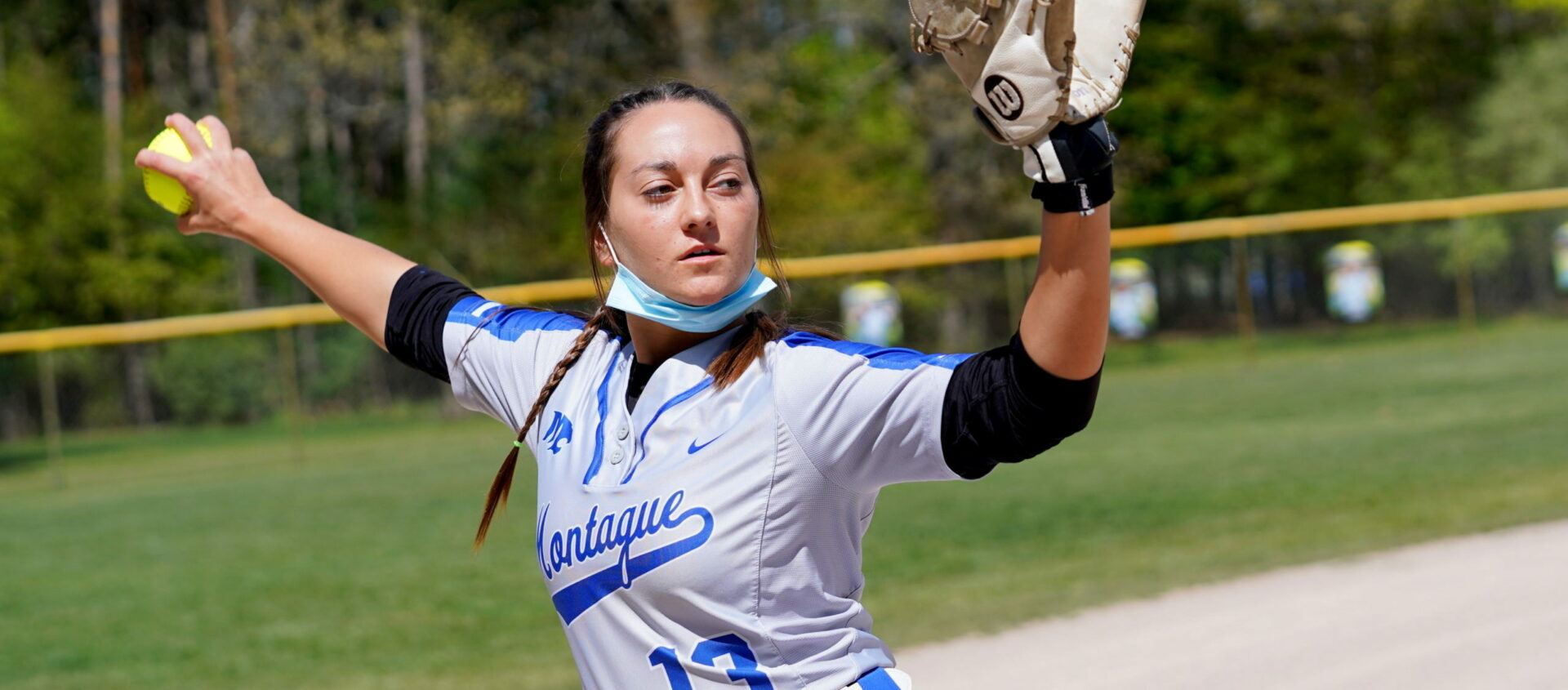 Montague's ace in the classroom and on the mound: Ivy League-bound Bailey Belinger leads area in strikeouts and ERA