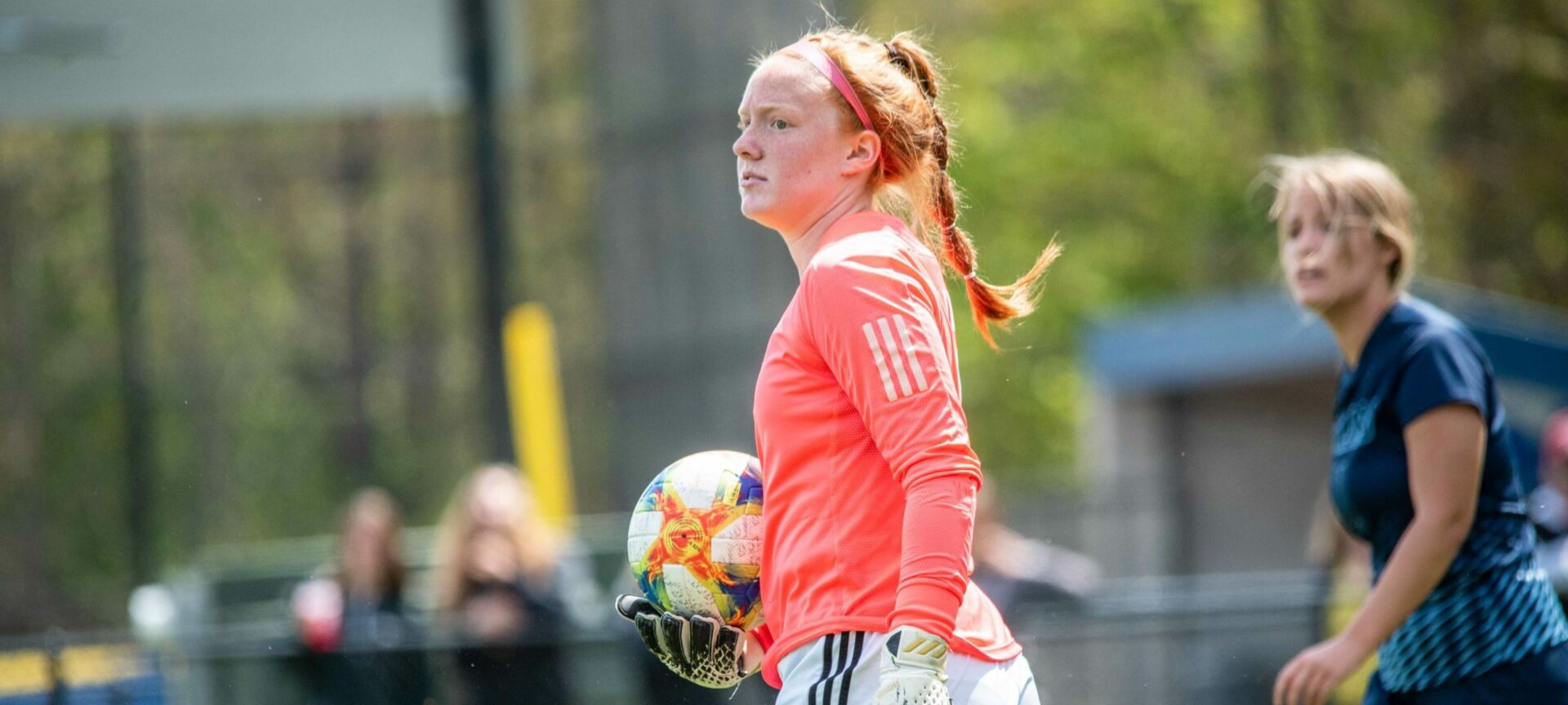 Mona Shores soccer team uses a group defensive approach to keep opponents away from their goal, off the scoreboard
