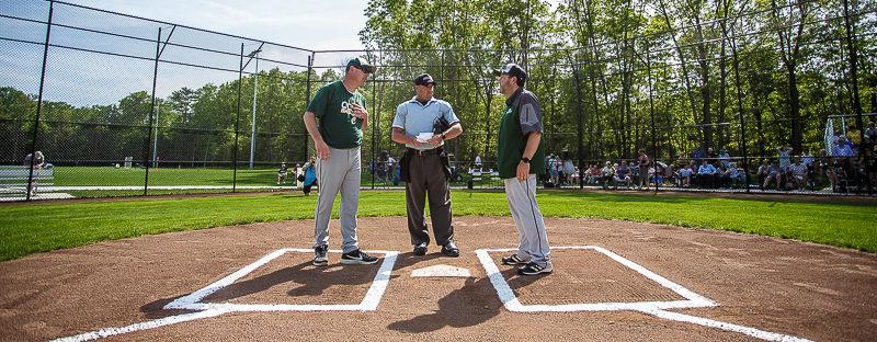Western Michigan Christian opens its shiny new baseball stadium on Monday, but falls 7-4 to Calvin Christian
