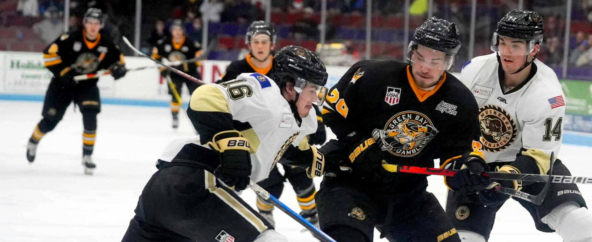 Lumberjacks win another playoff thriller 3-1 over Green Bay, advance to play Chicago in the Eastern Conference finals
