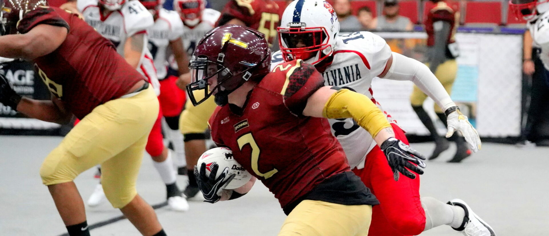 Ironmen get challenged for the first time this season and respond with a 55-26 victory over the Pennsylvania Union