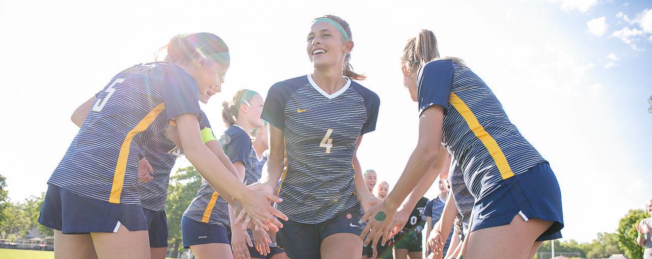 Confident North Muskegon girls soccer team ready to battle defending champion Royal Oak Shrine for state title