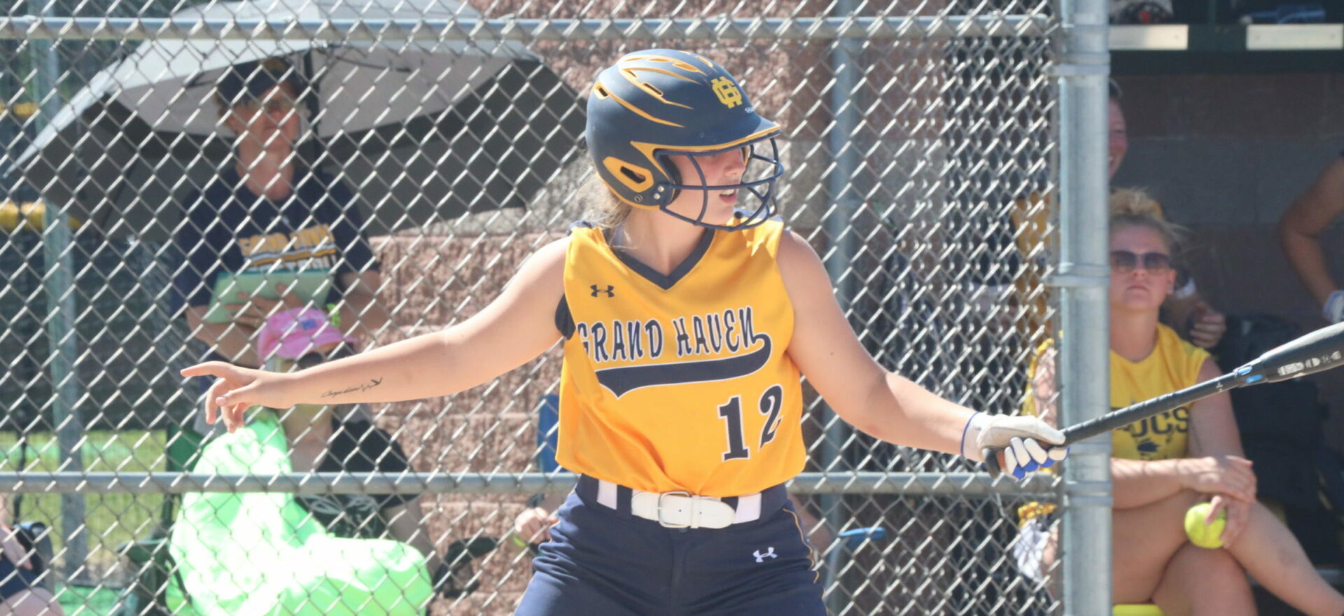 Young Grand Haven softball team dominates competition for first district since 2016