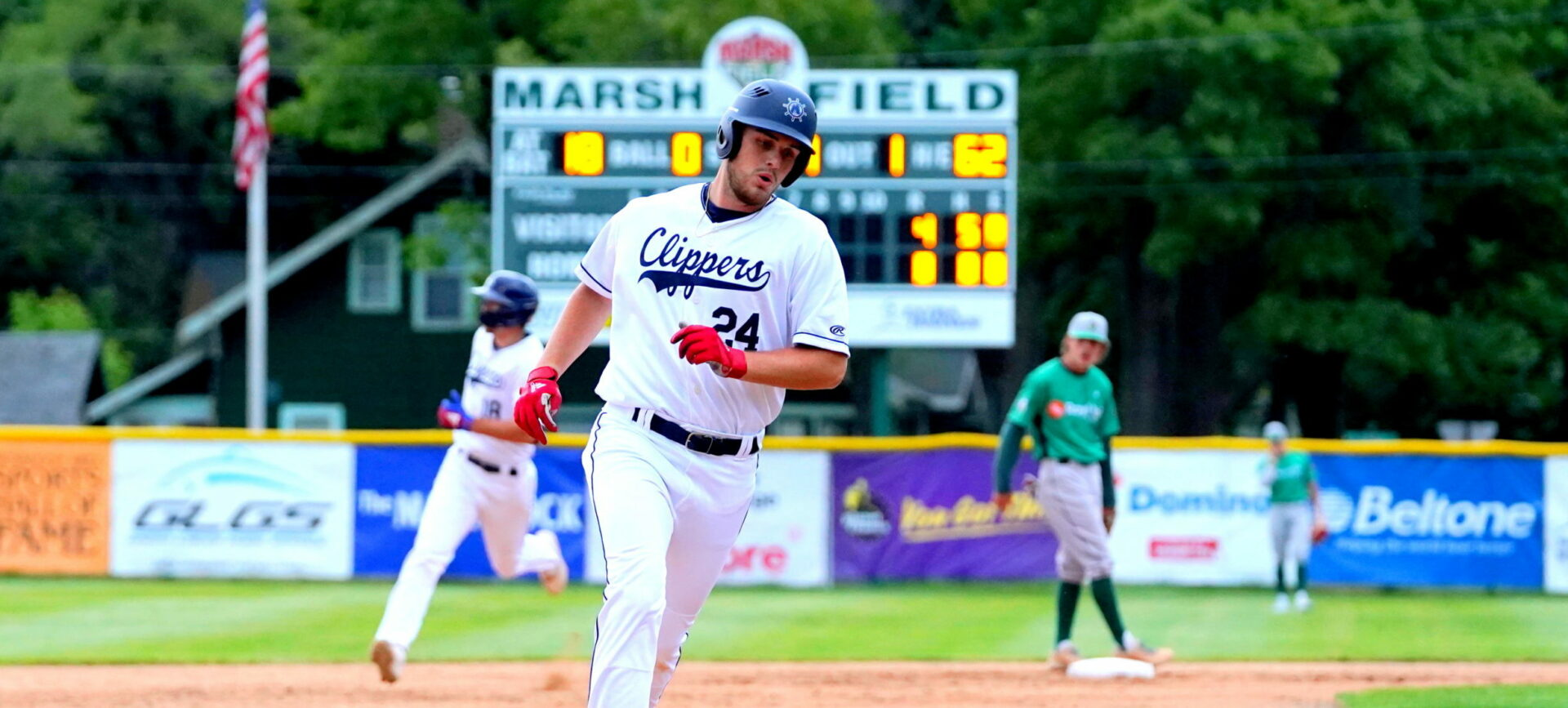 The Muskegon Clippers fall 7-2 to tje Royal Oak Leprechauns in their season opener, and their first game since 2019