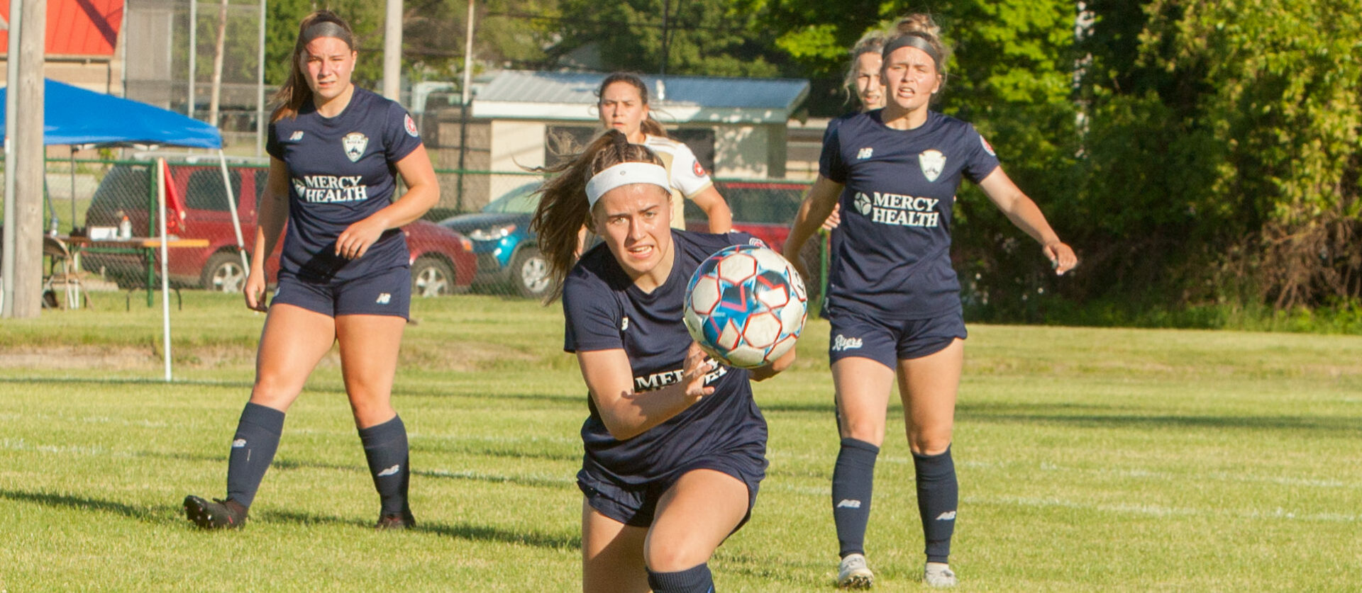 Muskegon Risers women's team takes tough double-digit loss on Saturday to visiting Detroit City FC