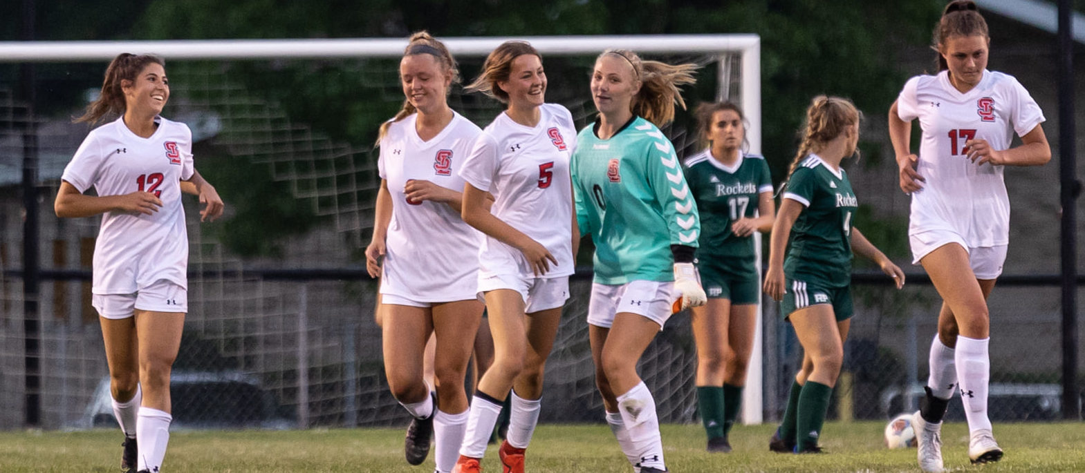 Spring Lake girls soccer team rolls past Reeths-Puffer 4-1 to earn a berth in the Division 2 district championship game