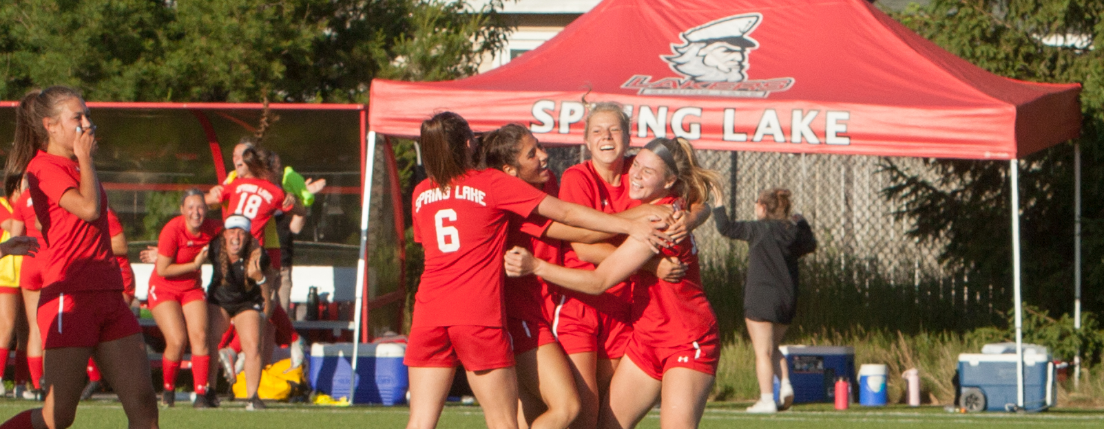 Spring Lake girls soccer team wins another heart-stopper, 2-1 over Byron Center, to earn a berth in Division 2 state finals