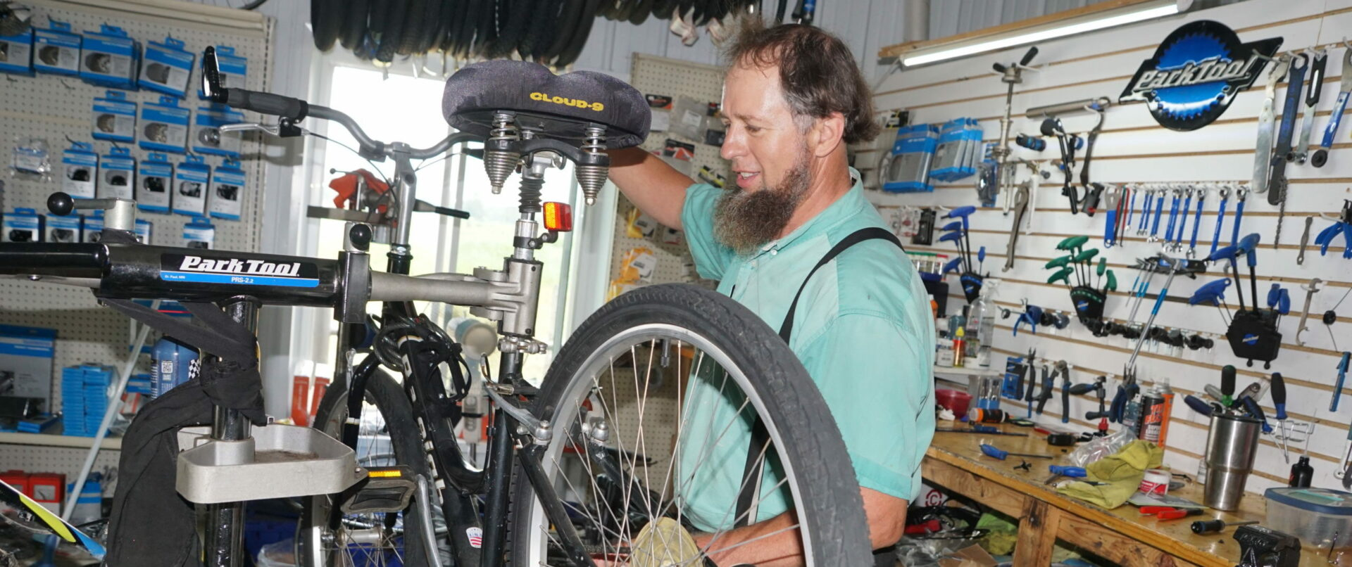 It's more than sales and service that drives Joe Bontreger at Central Cycles