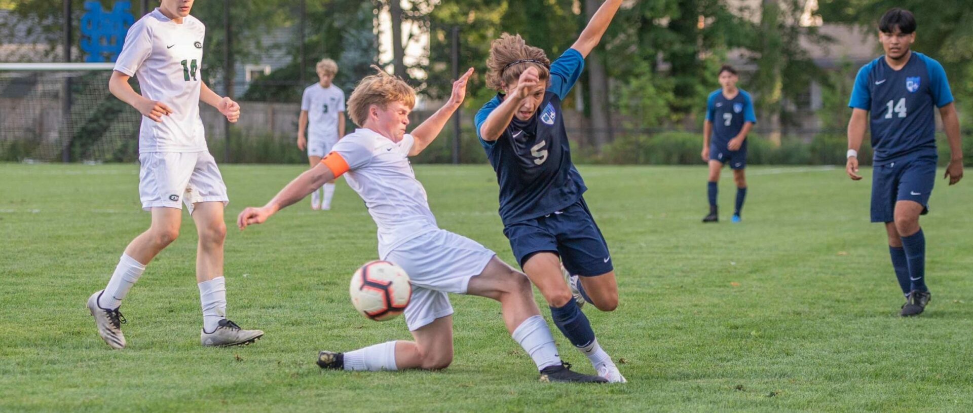 Mona Shores soccer uses key saves from goalie Tyler Ross and a balanced offense in win over Forest Hills