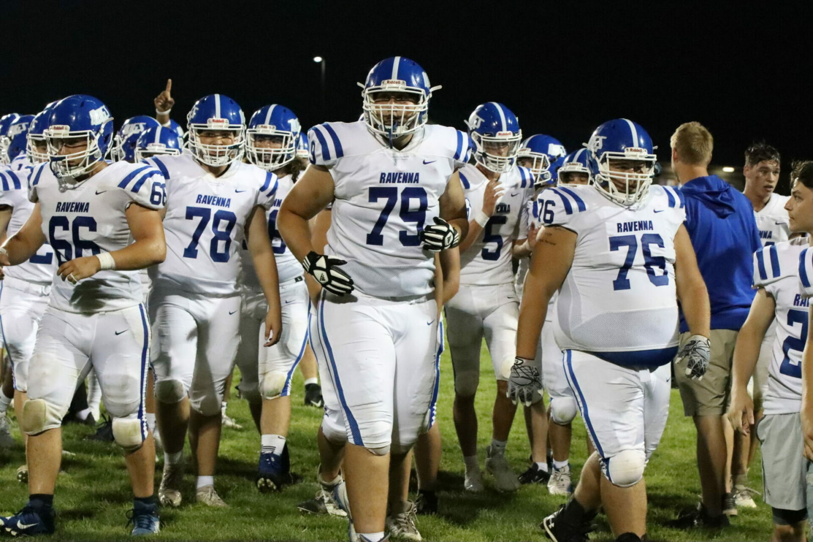 Week 2 high school football schedule plus featured photos of Ravenna's tight win over Beal City
