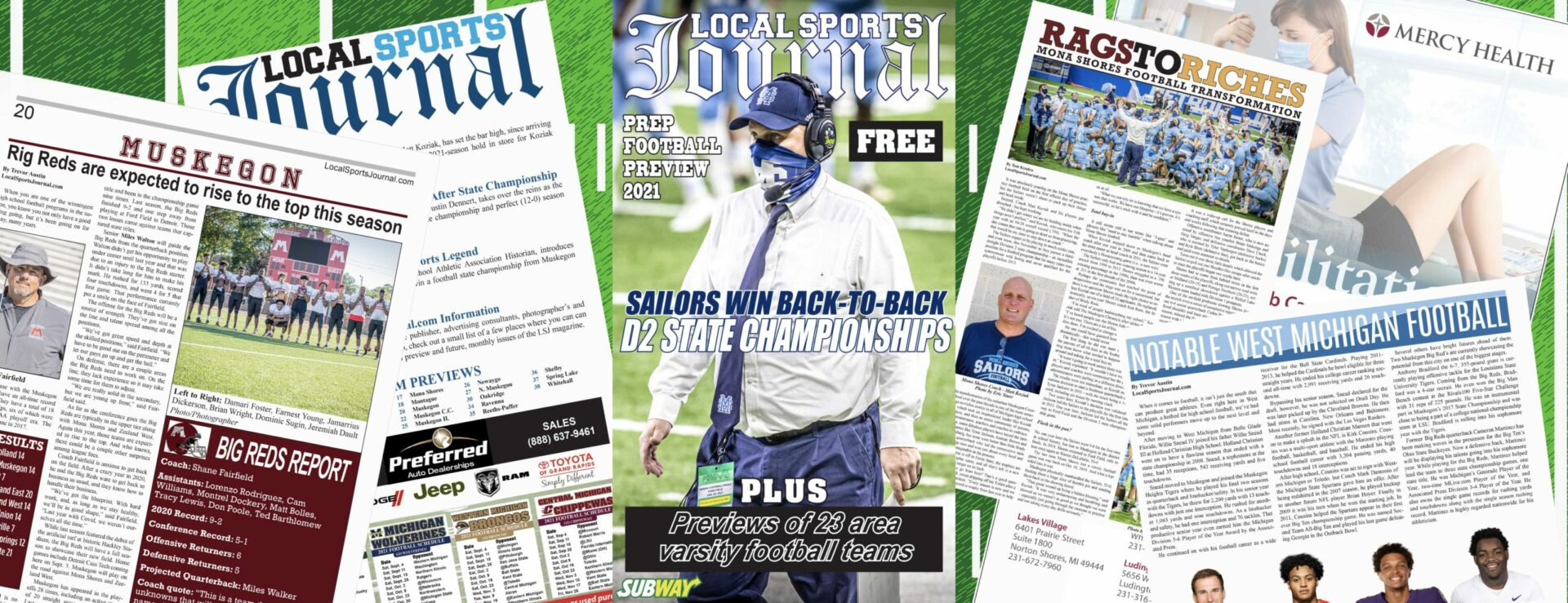 LSJ's 2021 High School Football Preview hitting news stands today!