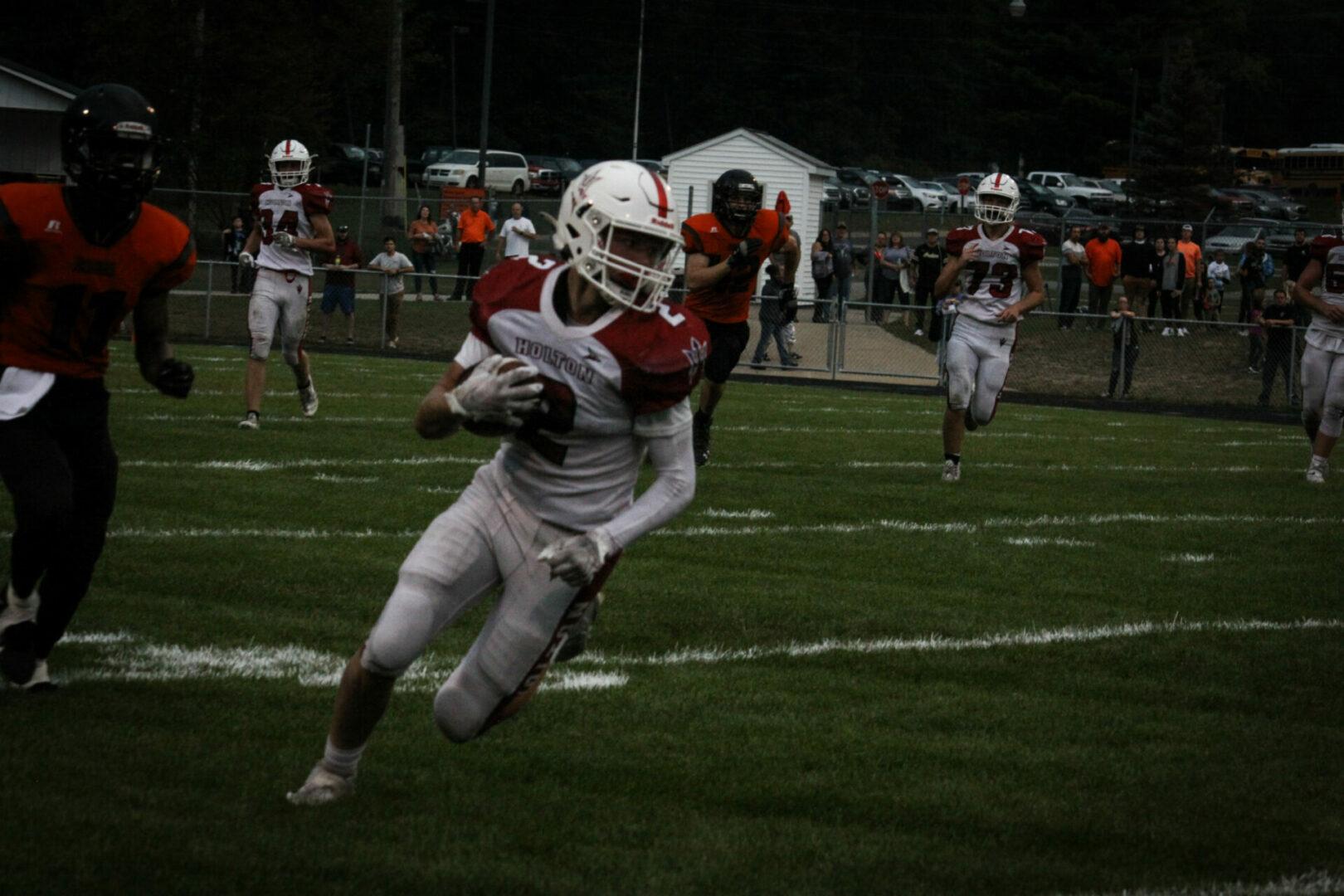 (PHOTOS) Week 5 high school football lineup plus Holton photos from Week 4