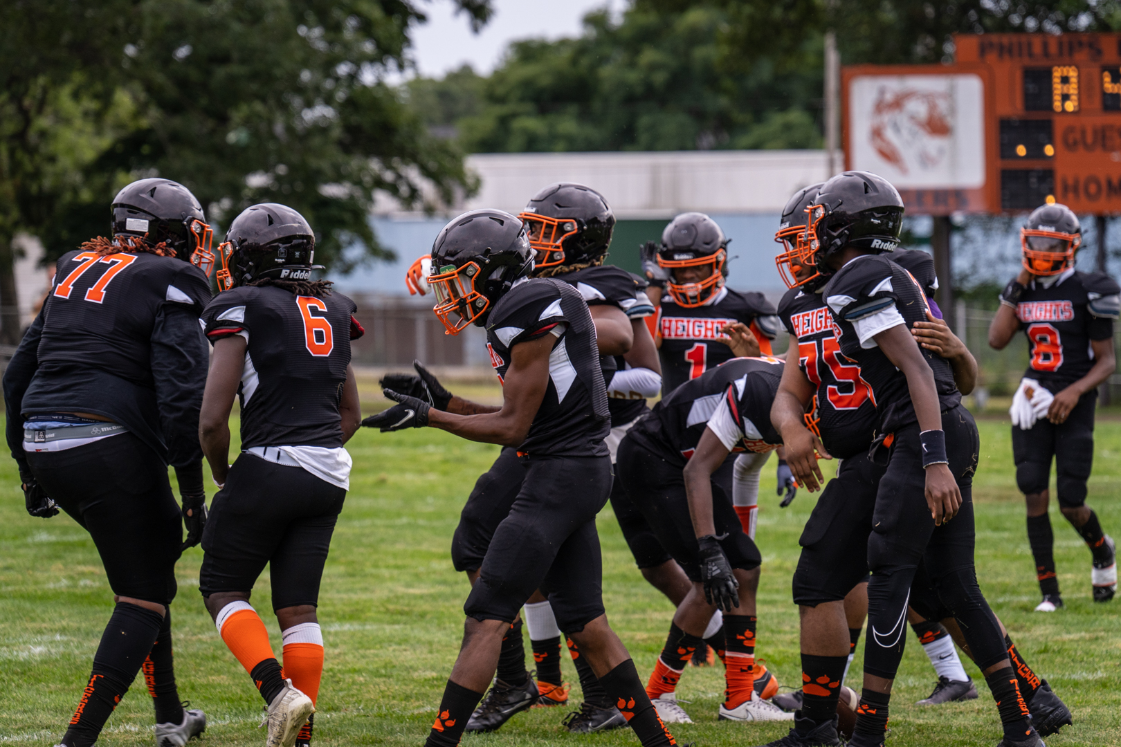 [VIDEO] Muskegon Heights football highlights from Week 2 win