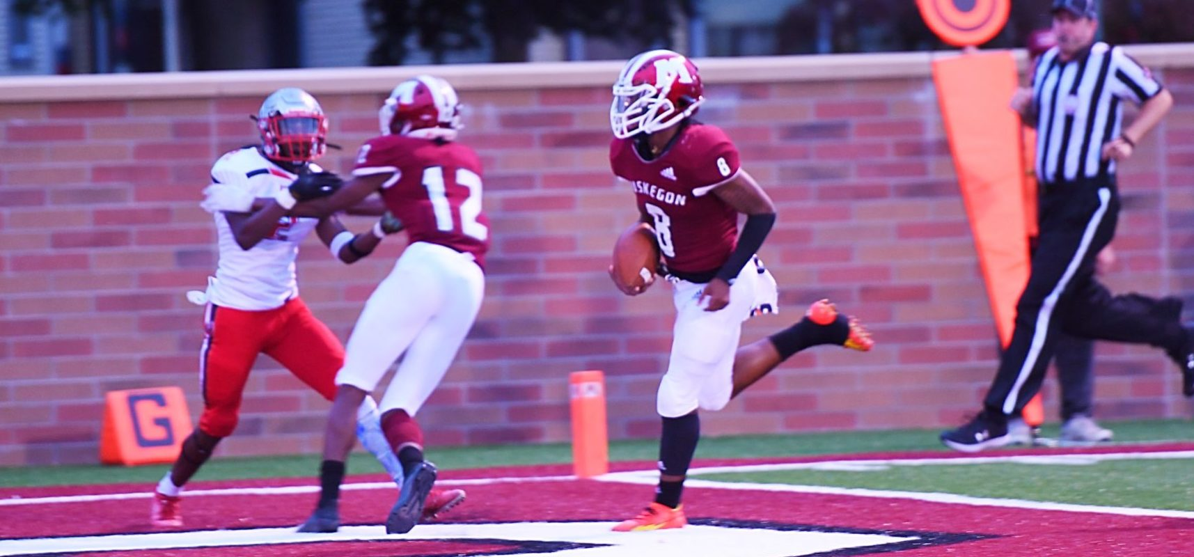 Muskegon Big Reds display offensive explosion in 58-0 thrashing of GR Union
