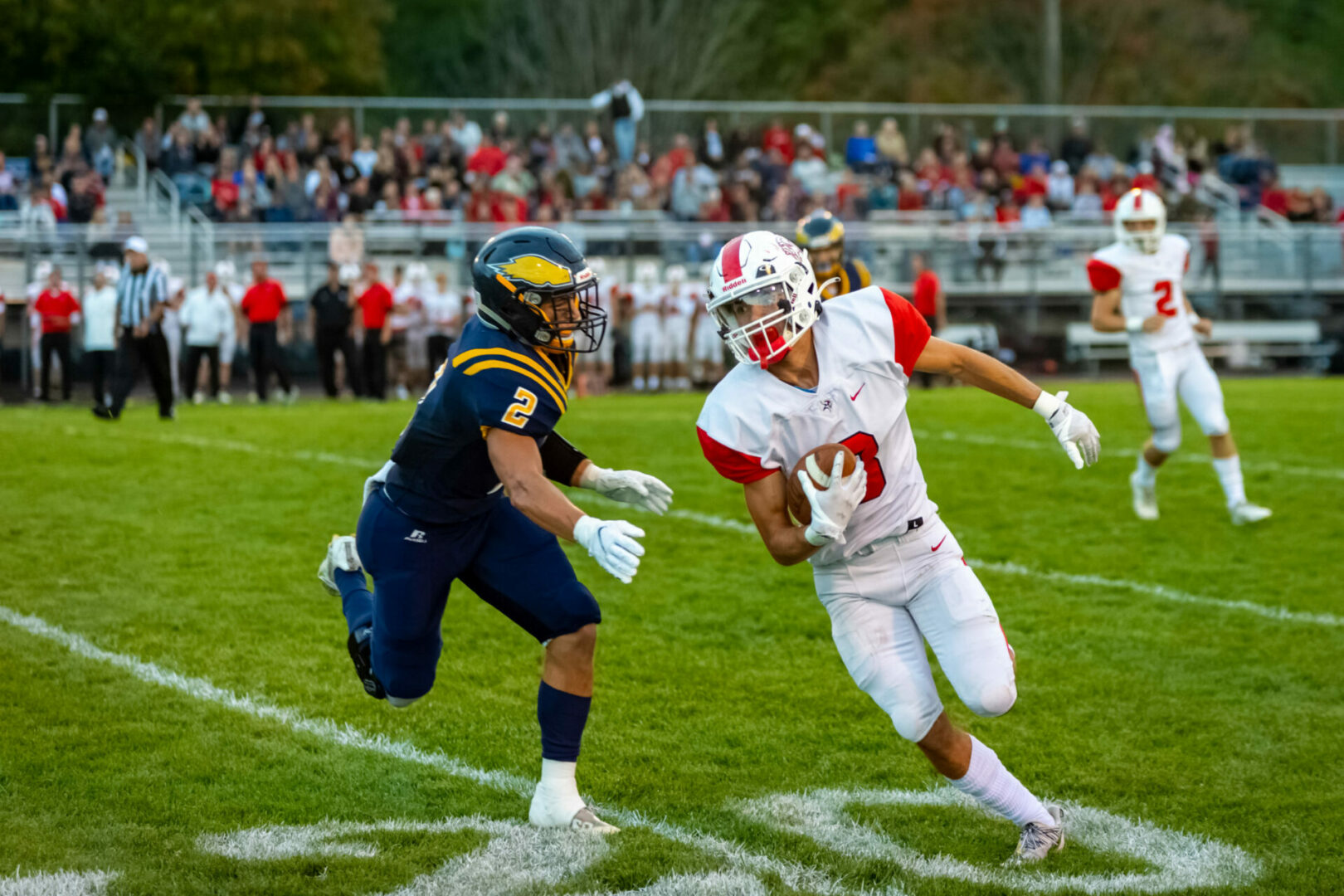 Whitehall rolls over North Muskegon, keeps WMC title hopes alive (PHOTO GALLERY)