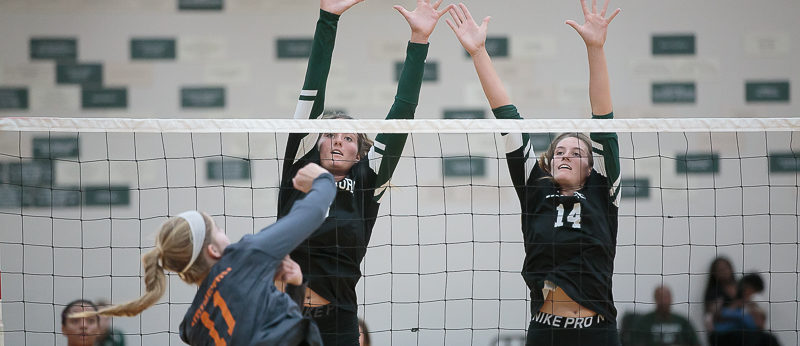 Western Michigan Christian volleyball Rolls over Ludington in Lakes 8 opener