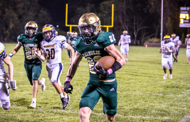 Muskegon Catholic shuts out Manistee, continues roll through Lakes 8