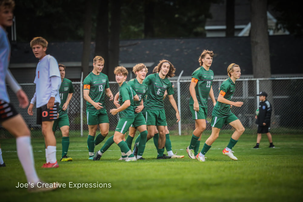 Reeths-Puffer upsets No. 15 ranked Ludington in Division 2 district boys soccer opener