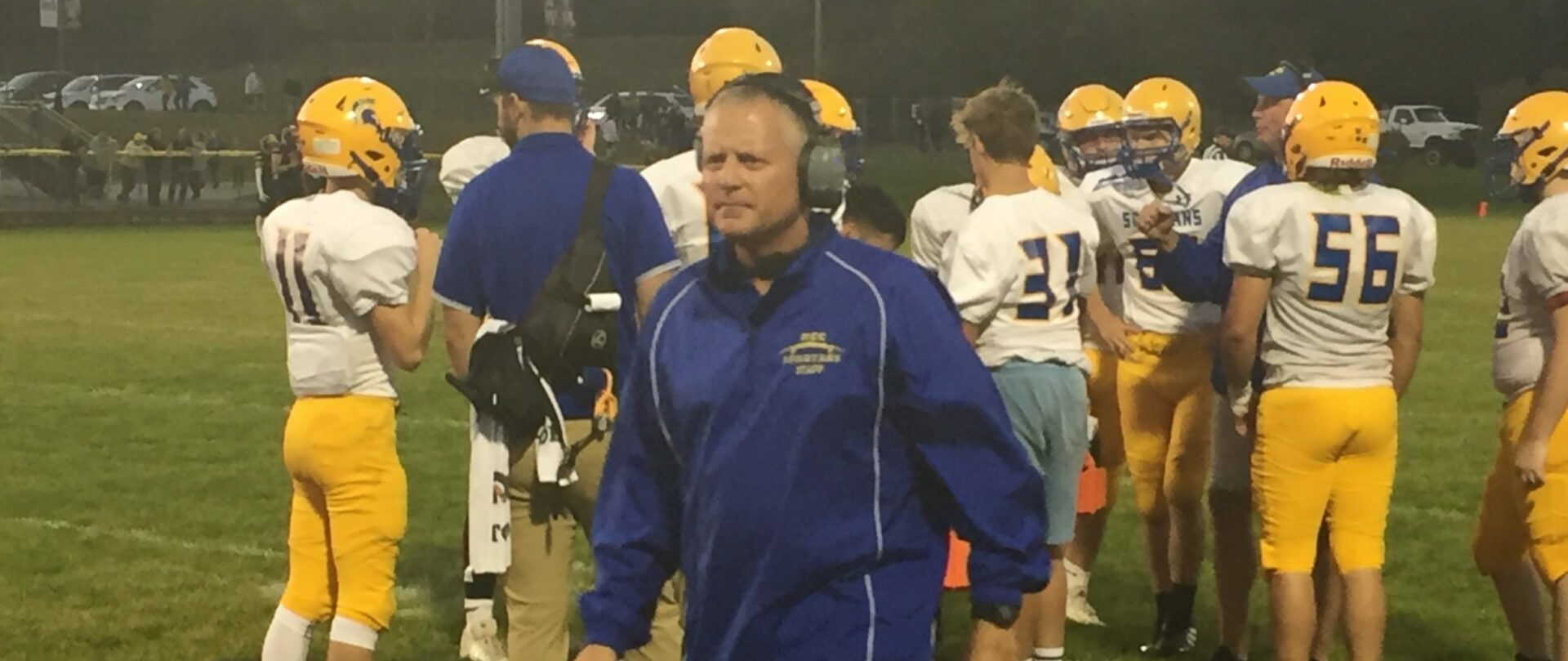 Mason County Central hangs in through first half against Manistee, falls in Week-6 football opener