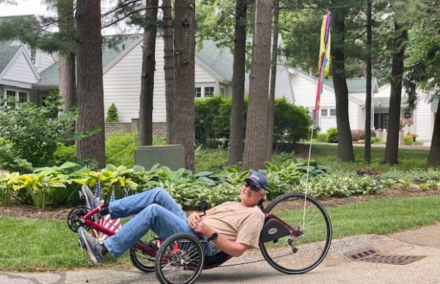 Spokes Fighting Strokes gives cyclists new lease on life